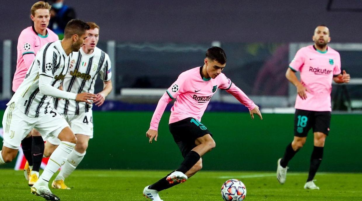 برشلونة يعود بانتصار ثمين من ميدان اليوفنتوس