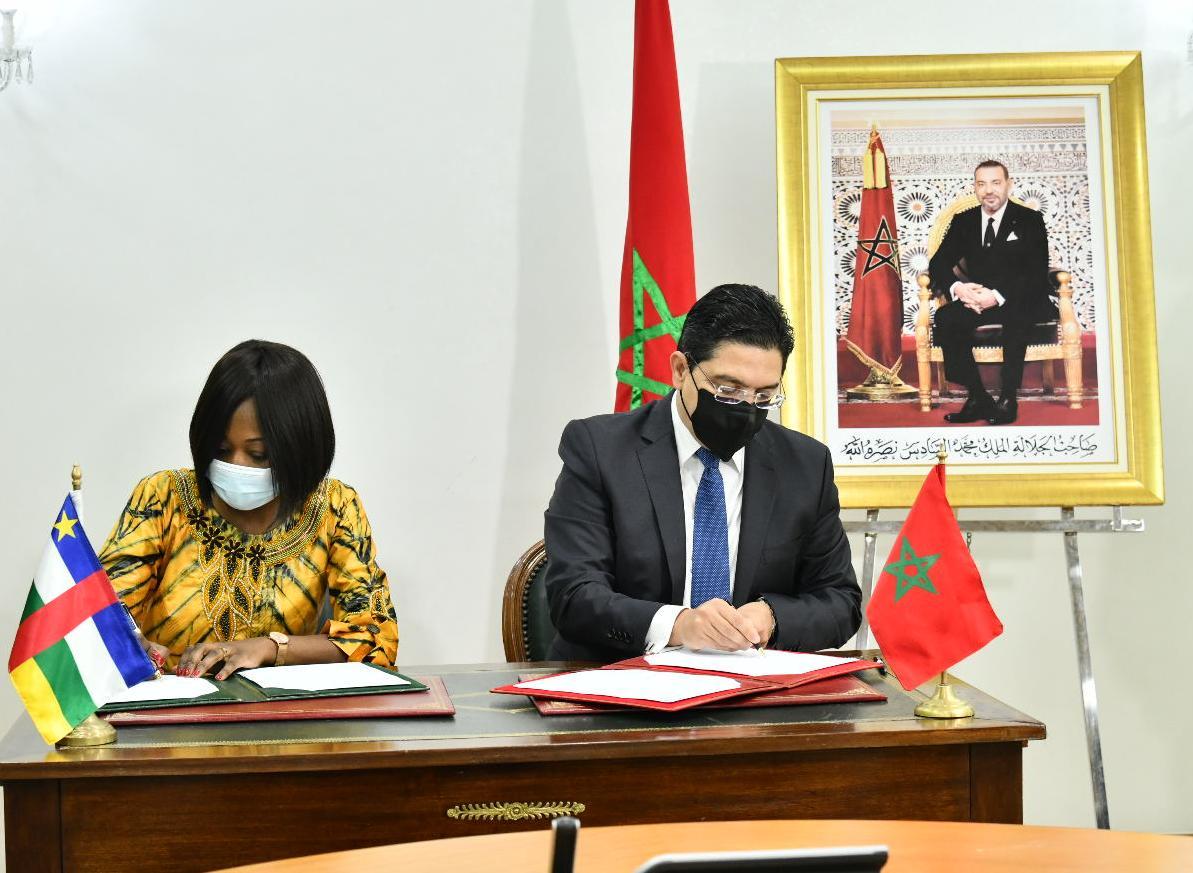 توقيع ثلاث اتفاقيات تعاون بين المغرب وجمهورية إفريقيا الوسطى