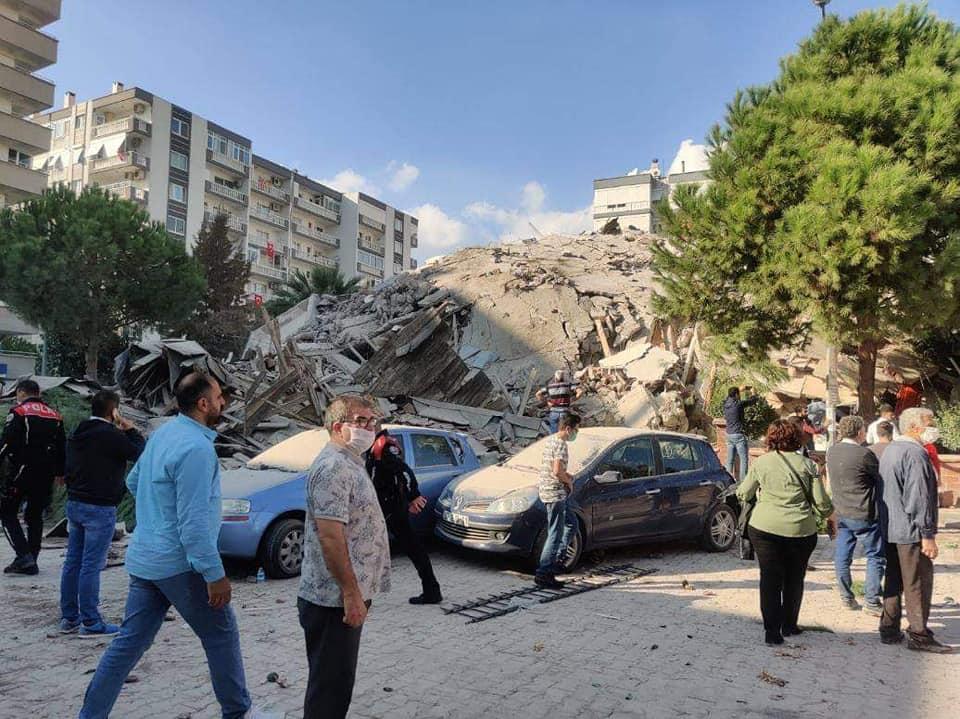 زلزال عنيف يضرب تركيا تلتها 35 هزة ارتدادية