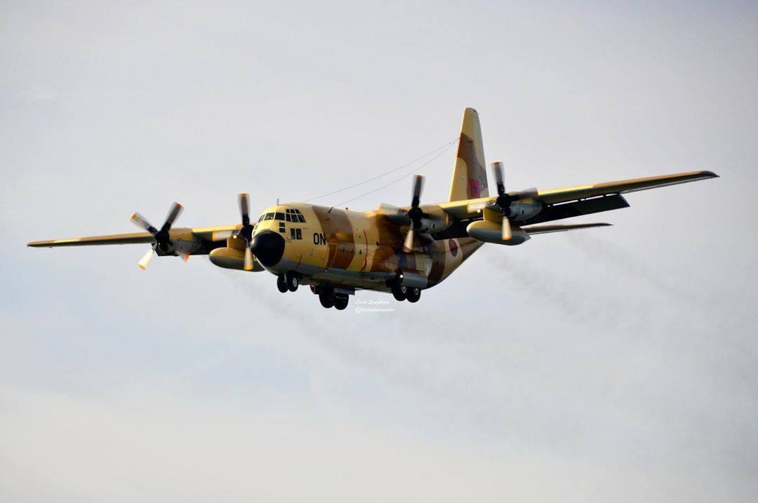 طائرات أمريكية ضخمة للشحن العسكري في طريقها الى المغرب