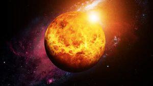 صورة مرعبة لثوران بركان على كوكب الزهرة!