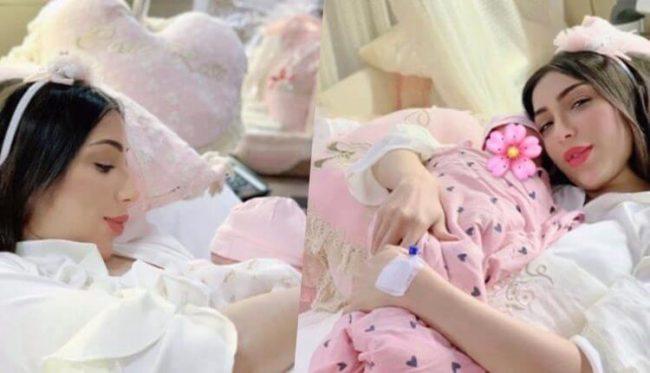 هجوم على دنيا بطمة بعد ولادتها لطفلتها الثانية والسبب ..!!