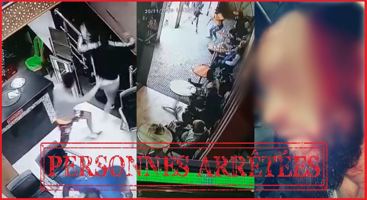 الديستي توقع بشخصين ظهرا في فيديو اعتداء داخل مقهى بالرباط