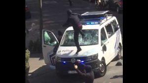 اعمال شغب ببلجيكا بعد قرار عدم متابعة رجال شرطة تسببوا في وفاة شاب مغربي