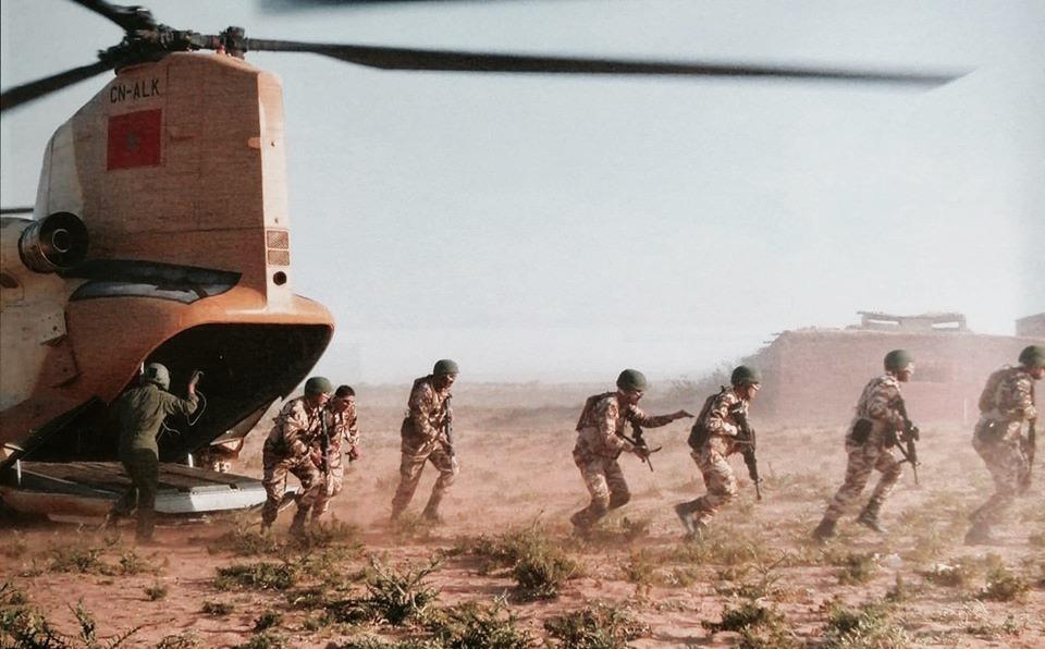احباط مناوشات ليلية لمرتزقة البوليساريو من قبل الجيش المغربي