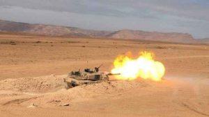 الجيش المغربي يقصف متربصين بالجدار الأمني