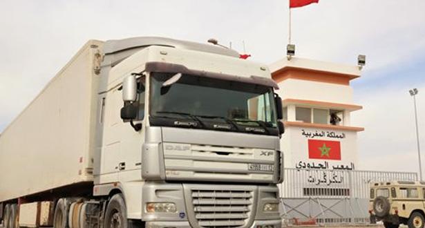 رسميا استئناف حركة النقل الطرقي بين المغرب وموريتانيا