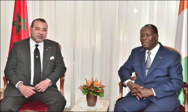 الكركرات.. الرئيس الإيفواري يؤكد لجلالة الملك تضامن بلاده ودعمها الكامل لمبادرات جلالته