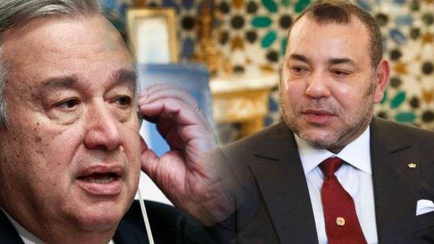 جلالة الملك يجري اتصالا هاتفيا مع الأمين العام للأمم المتحدة ويؤكد أن المغرب أعاد الوضع الى طبيعته