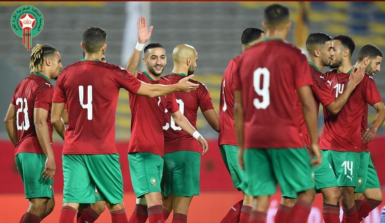 المنتخب المغربي يدك مرمى أفريقيا الوسطى برباعية