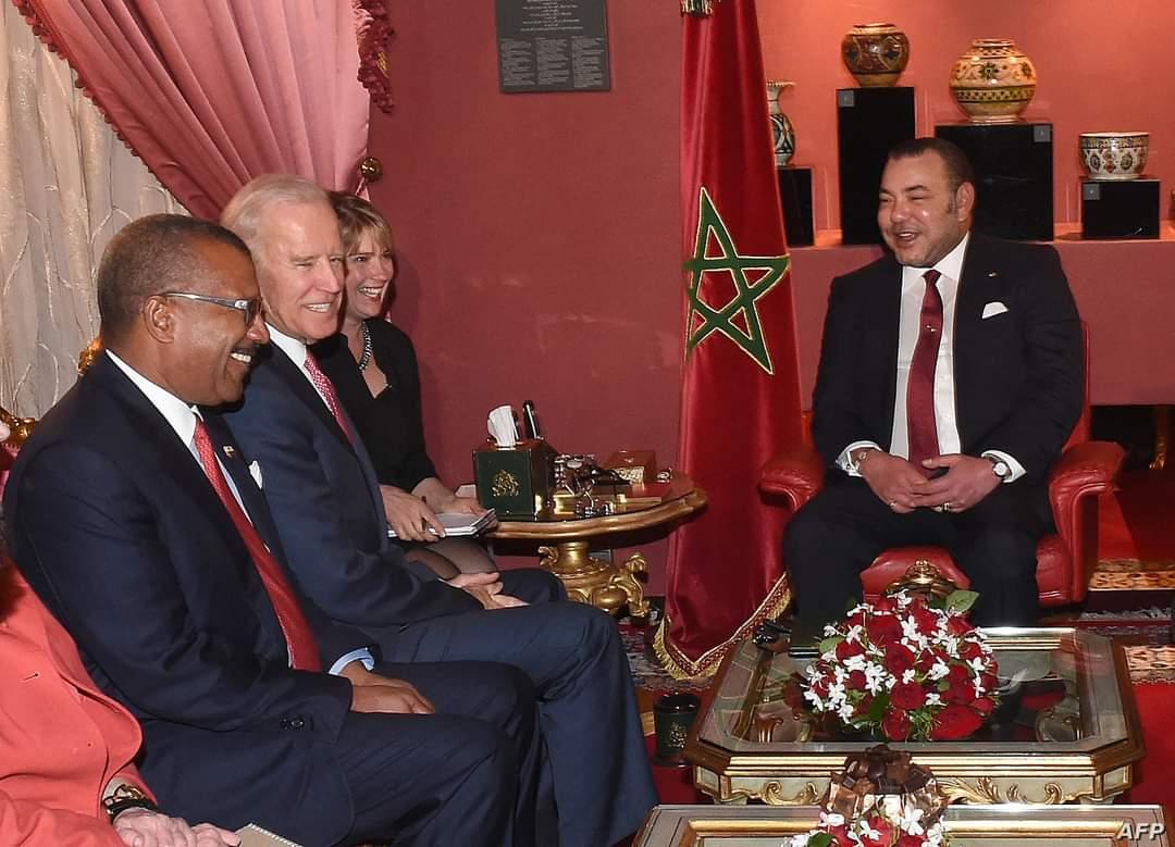 حينما أشاد بايدن بالعلاقات المغربية ـ الأمريكية خلال الإستقبال الملكي