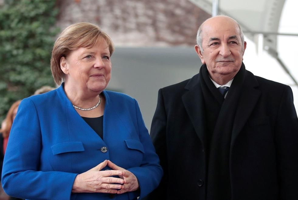 في ظل تكتم الجهات الرسمية بالجزائر.. المستشارة الألمانية تتحدث عن صحة الرئيس تبون!!