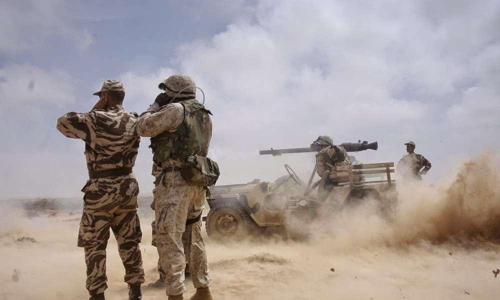 الجيش المغربي تدمير عربة عسكرية تابعة للبوليساريو