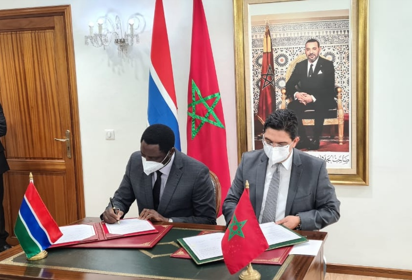 غامبيا تجدد التأكيد على موقفها الواضح الداعم لمغربية الصحراء