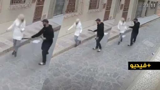 """فيديو يوثق لعملية """"كريساج"""" في واضحة النهار بالناظور يثير الساكنة ومصالح الأمن تتفاعل"""