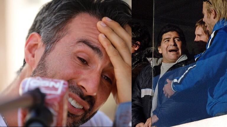 """شهود عيان..هذا ما حدث بين """"مارادونا"""" وطبيبه قبل أيام قليلة من وفاته! مفاجأة.."""