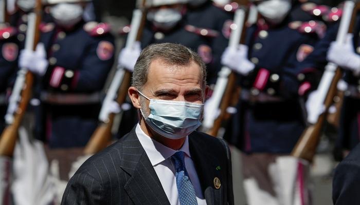 ملك إسبانيا في الحجر الصحي بعد مخالطته لمصاب بكورونا