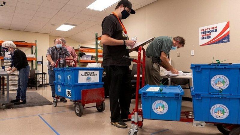 100 مليون أمريكي في التصويت المبكر لانتخابات الرئاسة
