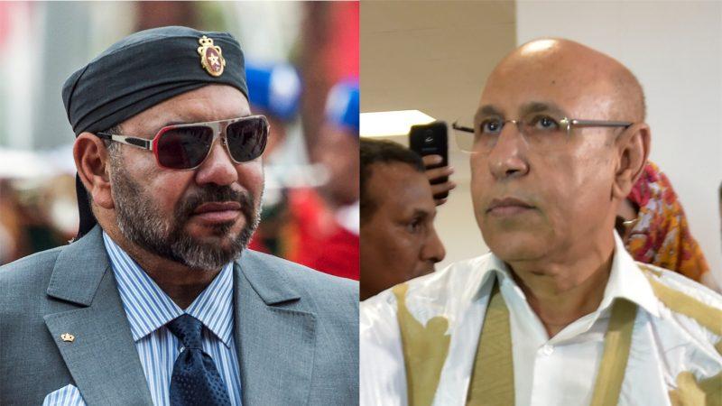 الرئيس الموريتاني لجلالة الملك نحرص على تعزيز العلاقات مع المغرب