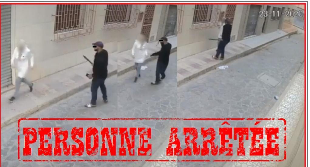 الناظور بعد انتشار فيديو تهديد وسرقة، توقيف المشتبه به