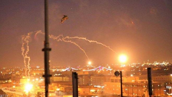 هجوم على سفارة أمريكا ببغداد