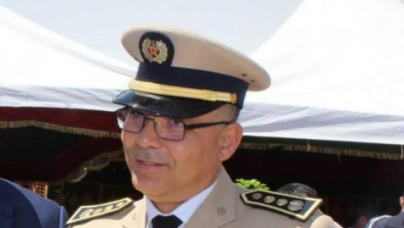 القائد الاقليمي لجهاز القوات المساعدة بطنجة