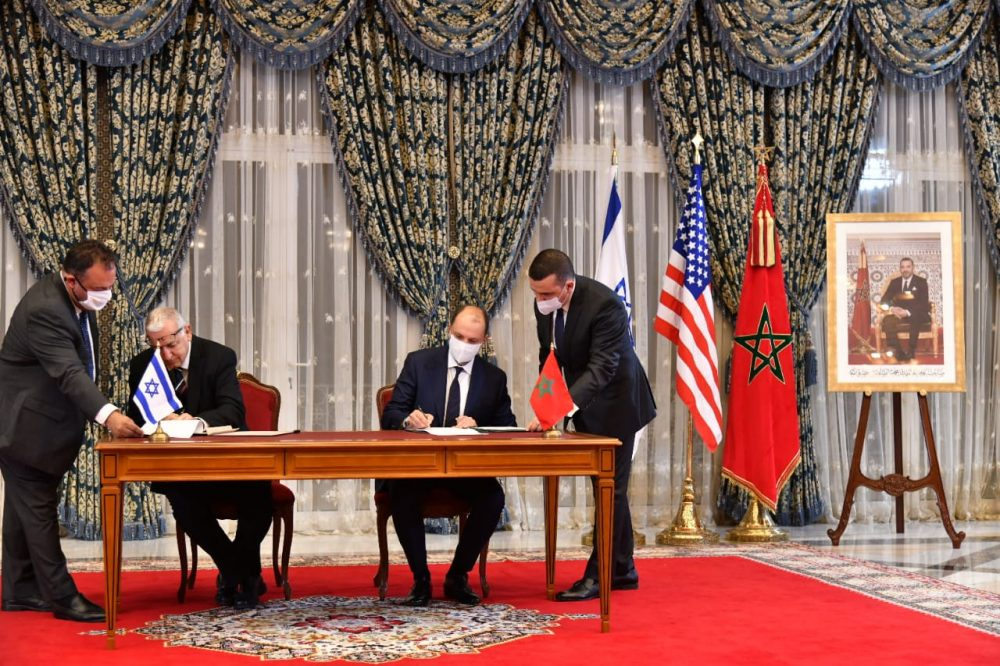 المملكة المغربية ودولة إسرائيل توقعان أربع اتفاقيات للتعاون المتبادل..