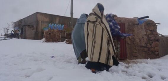 البرد يقتل شخصين بتاونات وبولمان