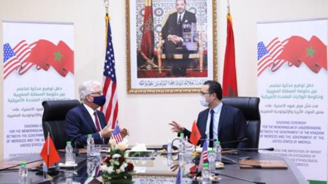 الرباط.. توقيع مذكرة تفاهم بين المغرب والولايات المتحدة بشأن الحفاظ على الممتلكات الثقافية المغربية
