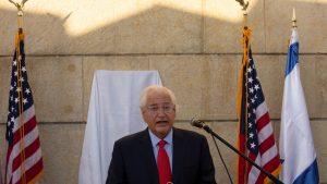 السفير الأمريكي في إسرائيل يحذر من قرار محتمل لبايدن سيقوض اتفاقات السلام مع اسرائيل..