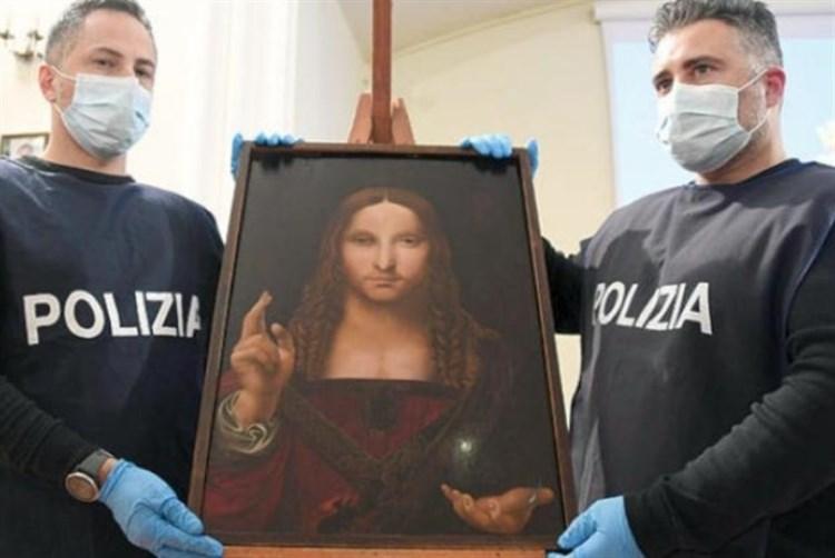 الشرطة الإيطالية تستعيد لوحة المخلّص