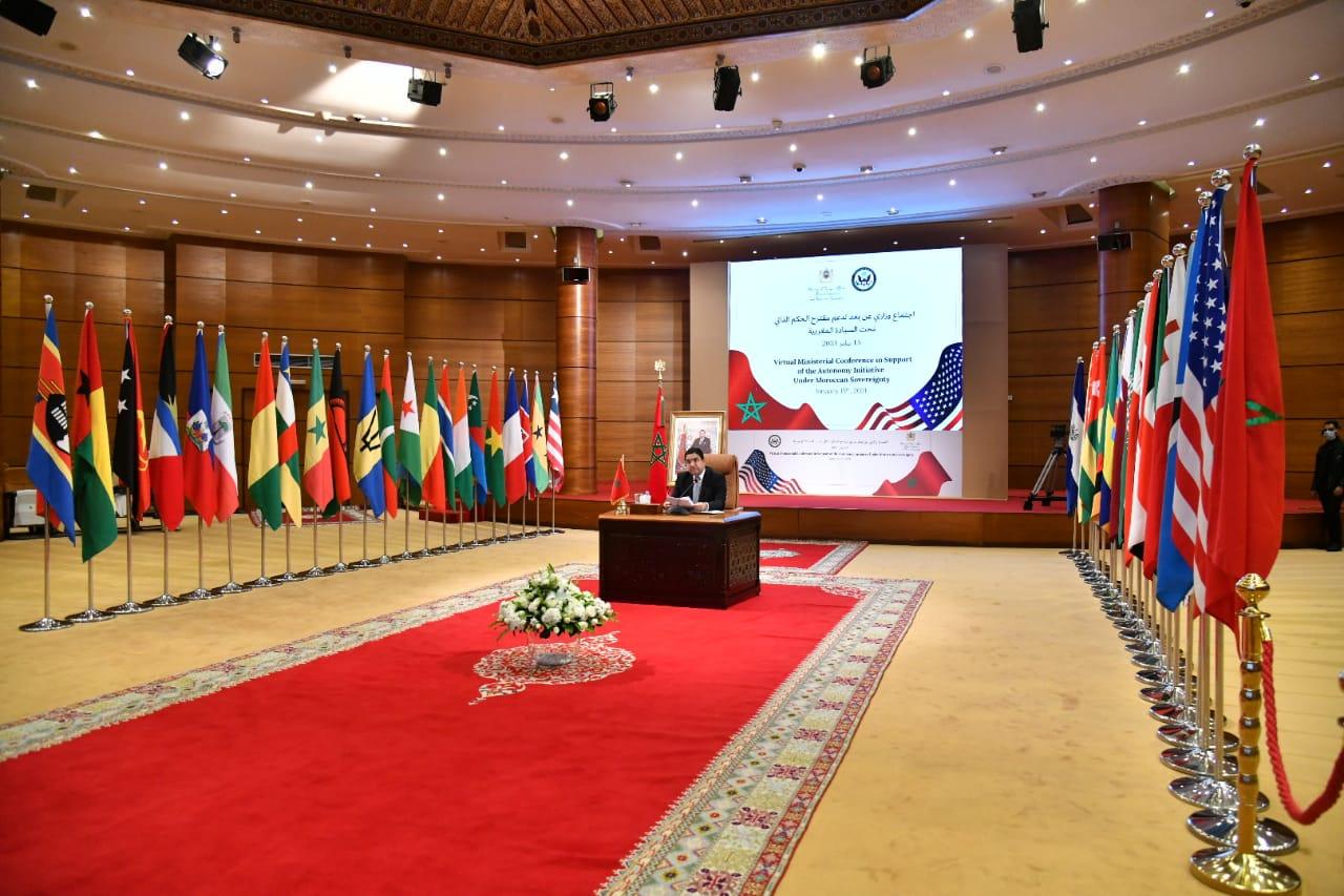 اجتماع وزاري بمشاركة 40 بلدا وواشنطن تؤكد الصحراء مغربية والحكم الذاتي هو الحل
