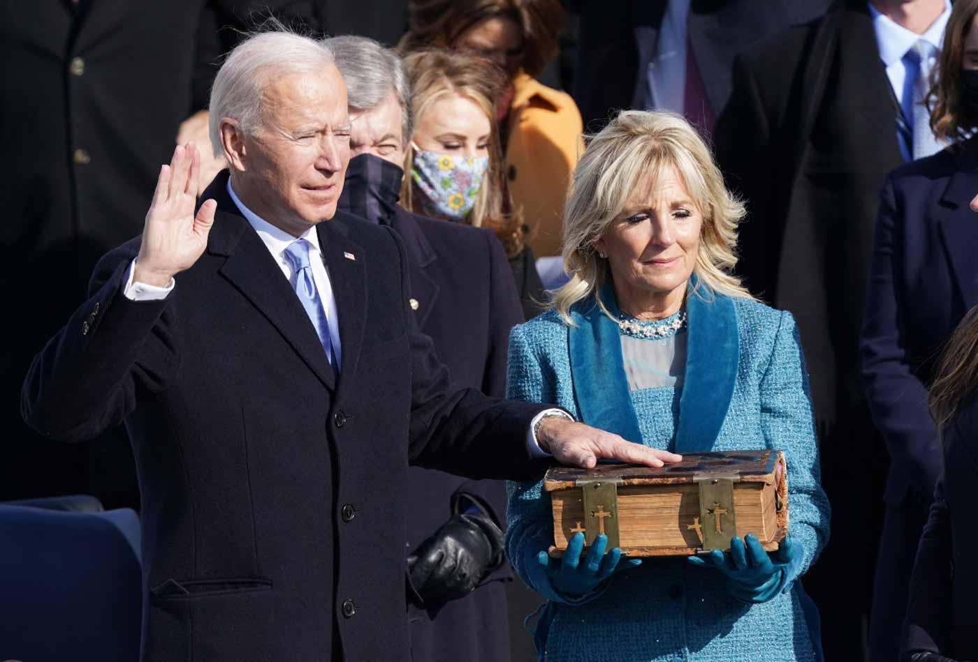 رسميا .. بايدن أصبح الرئيس السادس والأربعين للولايات المتحدة