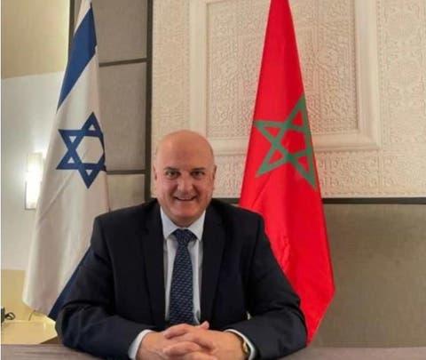 السفير الإسرائيلي يصل إلى المغرب