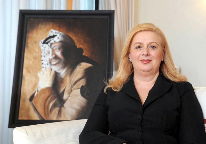 أرملة الرئيس الفلسطيني الراحل سهى عرفات تدعم عملية السلام بين اسرائيل والمغرب