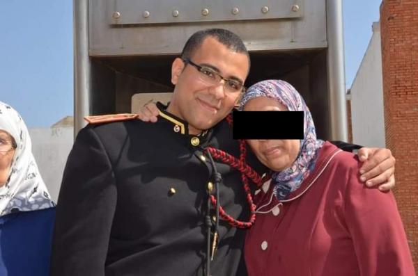 صفحة القوات المسلحة الملكية تنعي ضابط احتياط شاب قتله المجمر