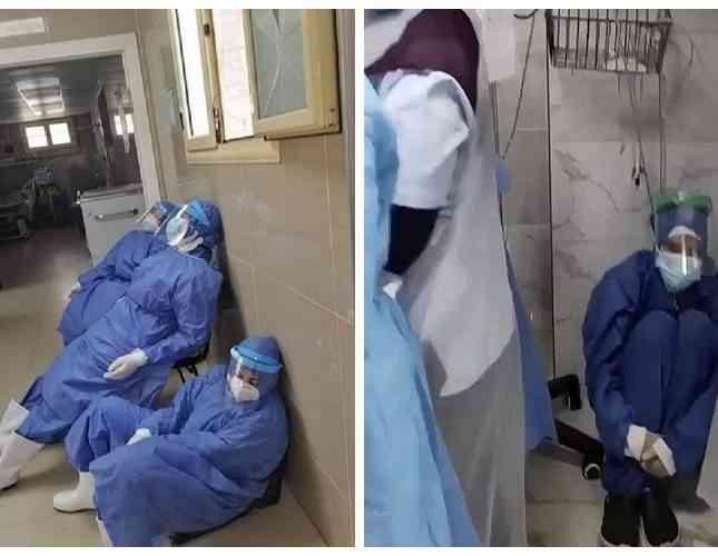 فيديو وفيات كورونا بمصر