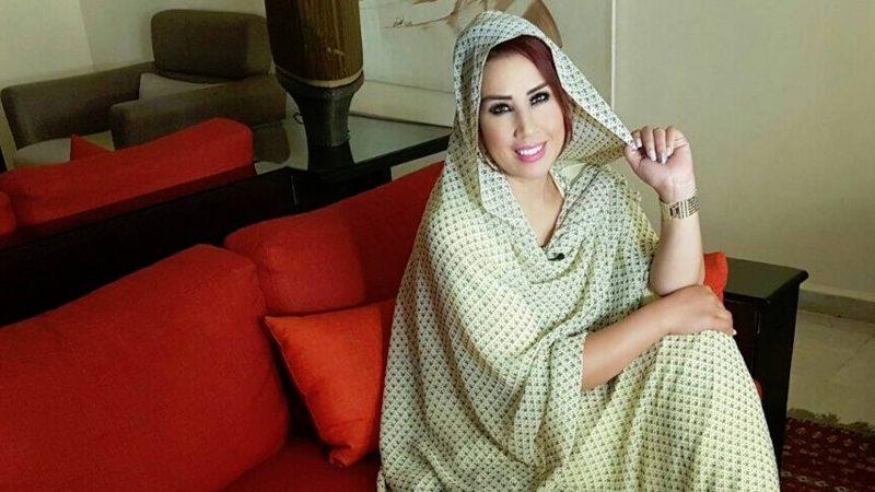 سعيد شرف تتعرض لكسر في كاحلها بسبب الكاميرا الخفية!!