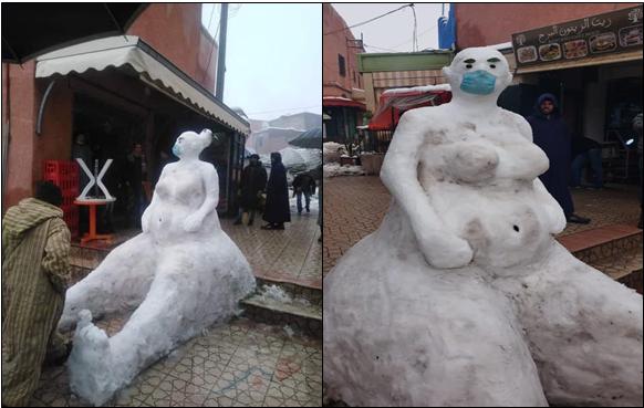 للعالم رجل الثلج