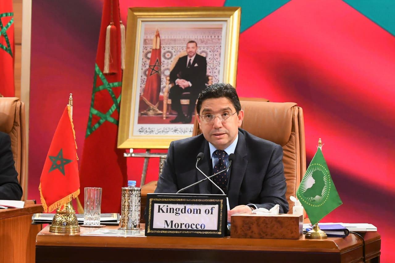 بوريطة: الملك محمد السادس وضع التعبئة والعمل التضامني كشرطين أساسيين للتصدي لكورونا ولرفع التحديات التي تعيشها القارة الإفريقية