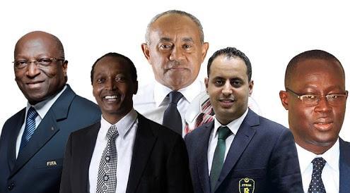 رئاسة الاتحاد الإفريقي لكرة القدم أربعة مرشحين قيد المنافسة والمغرب يؤيد موريتانيا