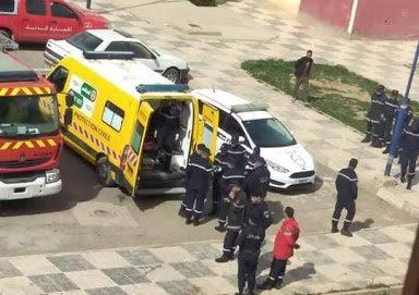 واقعة تهز الشارع الجزائري.. زوج يشق رأس زوجته ويقطّع اصابعها..