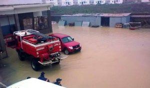 فيضانات طنجة
