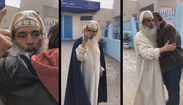 أبو النعيم يغادر سجن عكاشة وهو مصر على تكفير المغاربة لن أغير أقوالي ومواقفي