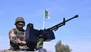 الجيش الجزائر ي