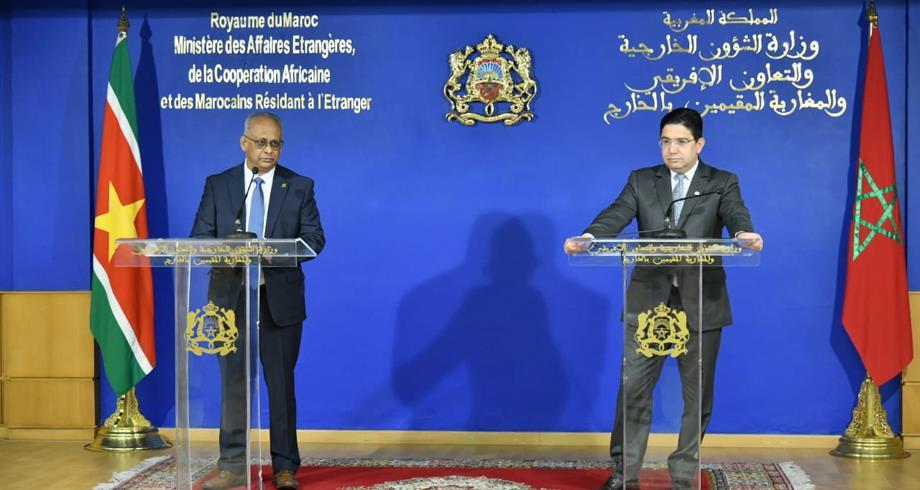 جمهورية سورينام تعلن عن قرب فتح سفارة لها بالرباط وقنصلية بالداخلة