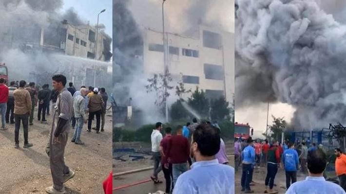 مصر.. مصرع 20 شخصا على الأقل في حريق بمصنع ملابس شمال شرق القاهرة