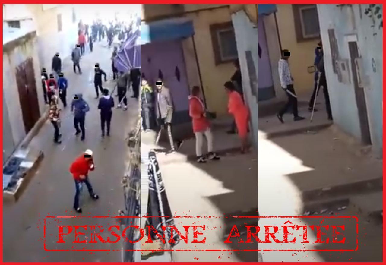 الأمن يحقق في فيديو