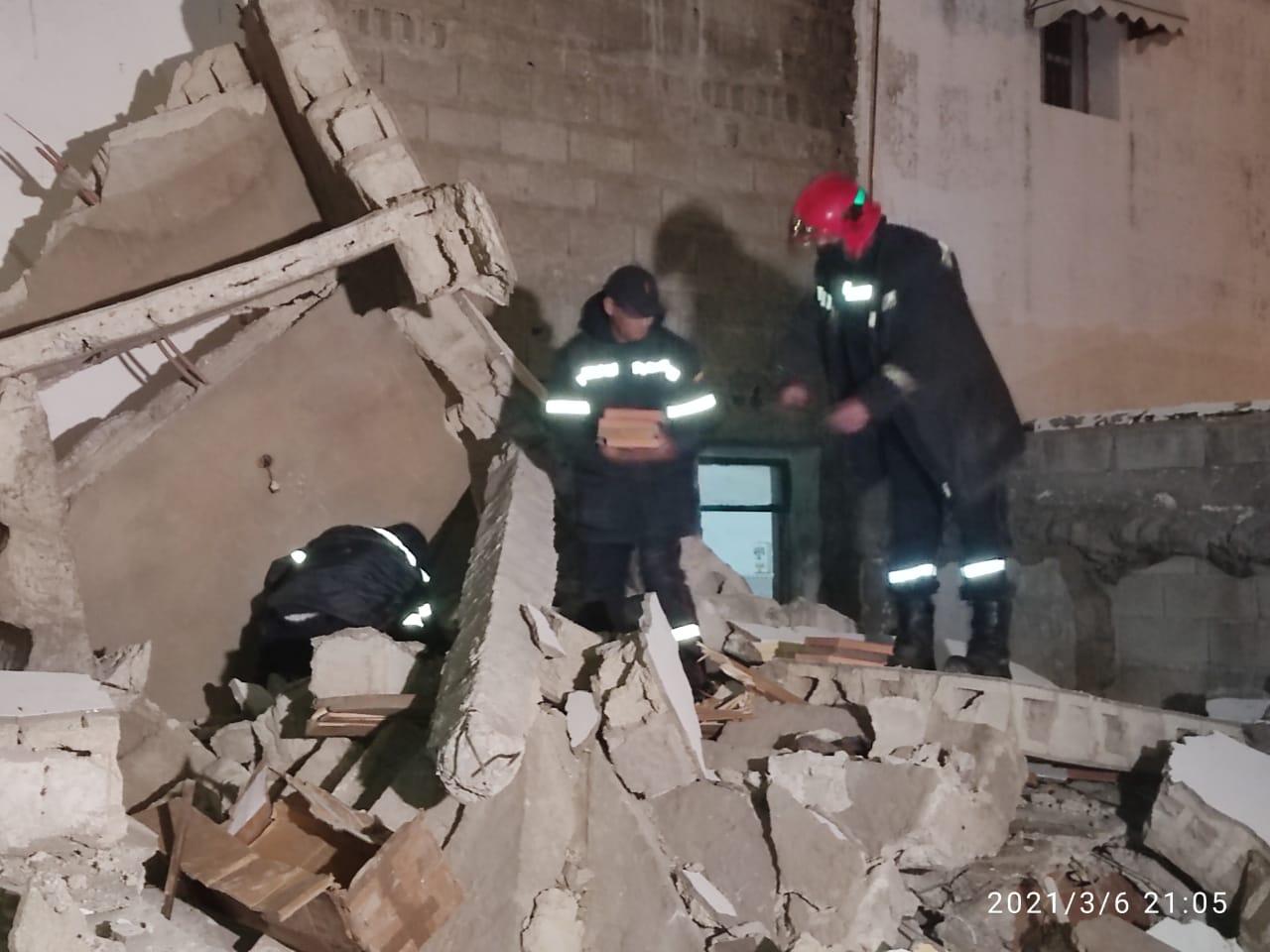 """آسفي..انهيار صومعة مسجد .. """"صور"""""""