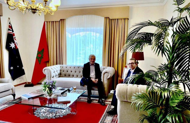 سفير العلاقات بين المغرب وأستراليا تشهد دينامية متميزة